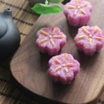 樱花形寿司饭团