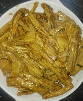 葱油拌腐竹