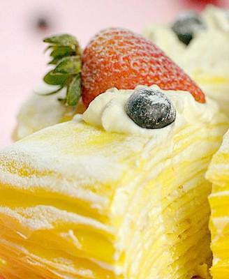 平底锅榴莲千层蛋糕