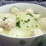 冬瓜马蹄肉丸汤