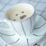 爱心淡奶咖啡