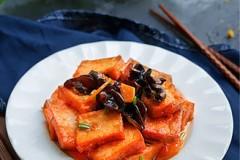油煎脆皮豆腐