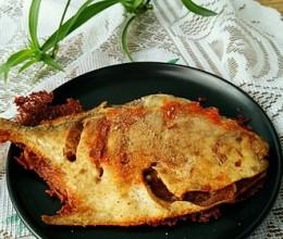 椒盐香酥烤鱼