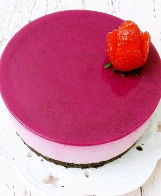 火龍果慕斯蛋糕