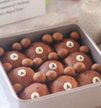 小熊挤挤面包
