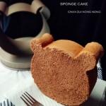 小熊分蛋海绵蛋糕