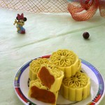 冰皮南瓜月饼