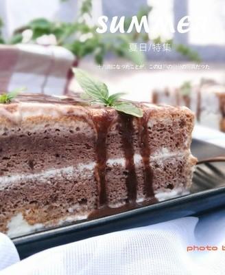 巧克力冰淇淋蛋糕