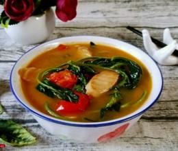 鲜美辣椒叶汤