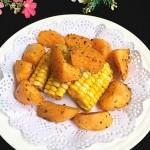 椒盐薯角玉米