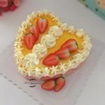 心形香橙蛋糕