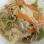 肉炒干豆腐