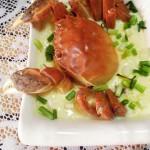 螃蟹蒸蛋羹