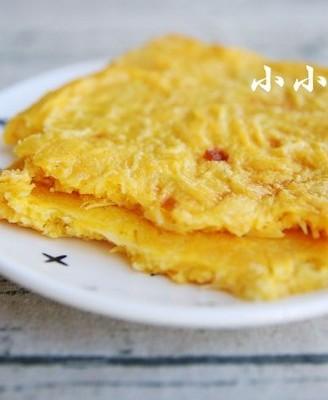 烤土豆丝饼:土豆切丝,用烤箱做更有土豆