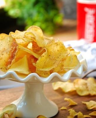 低热量椒盐薯片
