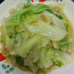 蚝油西生菜
