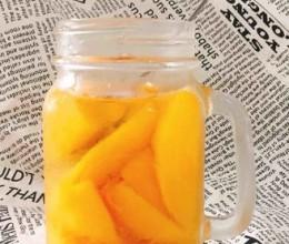 许你一罐透心甜的黄桃罐头