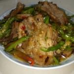 红油青椒回锅肉