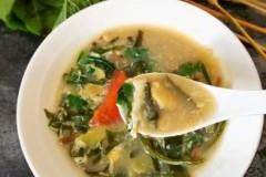 苋菜面筋汤