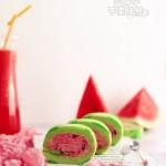 解暑神器の西瓜蛋糕卷