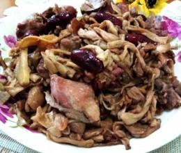 芋蒙干焖鸭