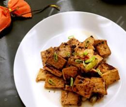 素菜吃出了烤肉味-----黑胡椒千页豆腐