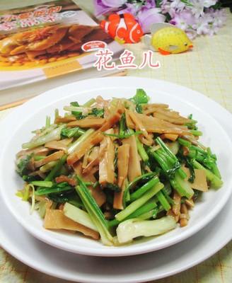 芹菜炒水笋