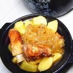 土豆粉条炖肋排