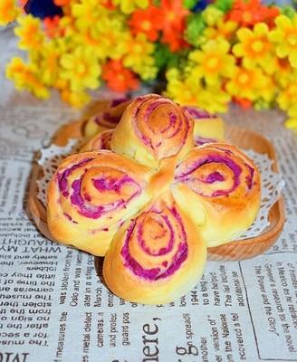 卷卷卷一朵紫薯花