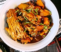 黄焖鸡米饭