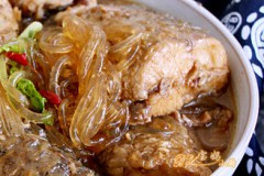 鱼段烧粉条