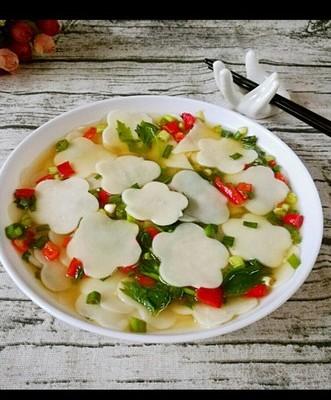 清淡可口的面片汤