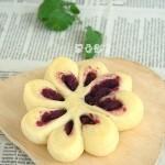 紫薯花式面包