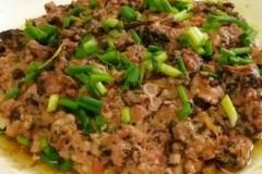 肉末橄榄菜