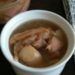 榴莲芸豆猪脚汤