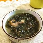 咸蛋紫菜汤