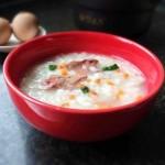 鸡肝蔬菜粥