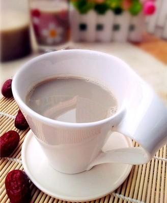 红枣黑豆浆