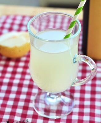 白萝卜梨汁