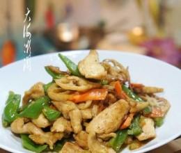 青椒莲藕炒肉