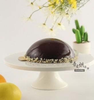浓浓情意——巧克力淋面蛋糕