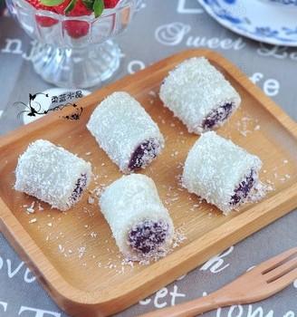 紫薯椰蓉卷