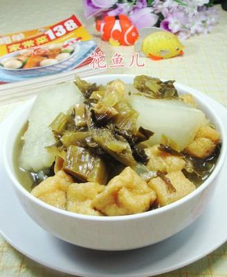小油豆腐酸菜冬瓜