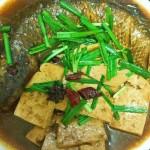 梭鱼炖豆腐