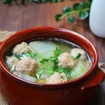 冬瓜丸子汤