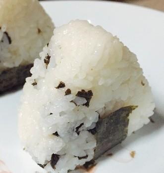 海苔蒜肠饭团