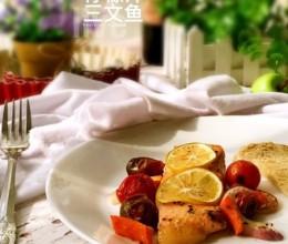 柠檬汁三文鱼