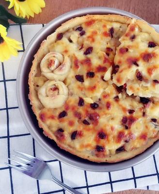 香蕉苹果披萨