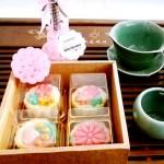 桃山水蜜桃月餅