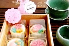 桃山水蜜桃月饼